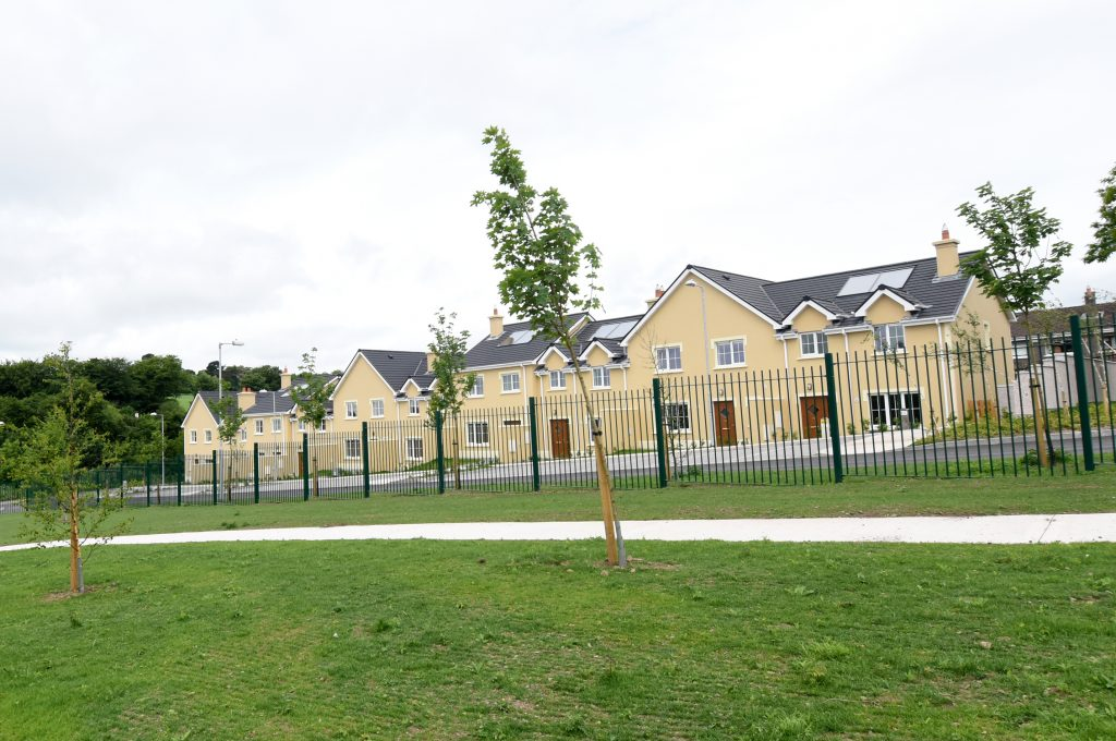 Completion of Ashmount Mews Estate at Silversprings Cork, 2016