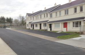 April 2015. Completion by Blue Broe of 147 unit Housing Estate at Castlerock, Castleconnell, Limerick for private sales.
