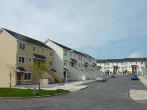 32 Unit Complex of Duplex/Apartments at Shanakiel, Cork City, completed for Cork City Council